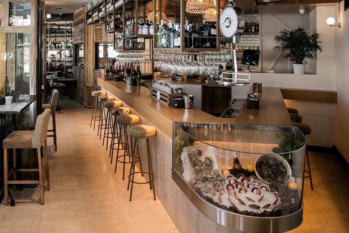 Tinglado Oyster Bar | Restaurante en Boadilla del Monte